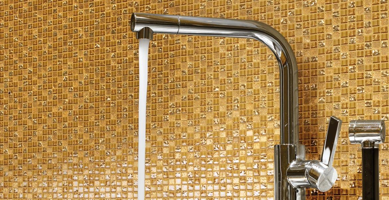 Mosaik Auf Netz Gold Metalloptik Bernit Fliesen Naturstein